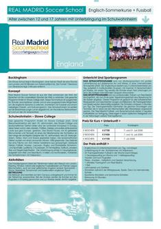 Real Madrid Soccer School England 2011