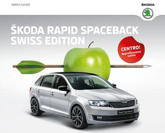 ŠKODA Rapid Spaceback Swiss Edition 2015 (Italienisch)