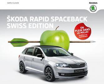 Rapid Spaceback Swiss Edition 2016 (Französisch)