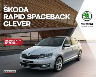 RAPID Spaceback Clever 01/2019