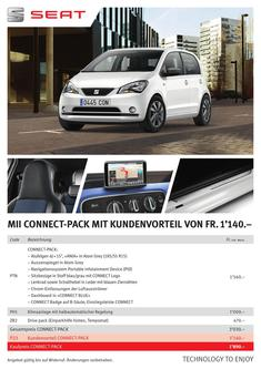 SEAT Mii CONNECT-Pack 2016