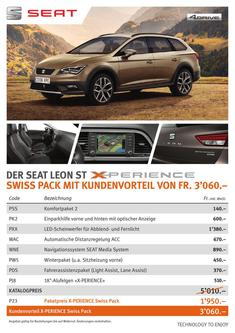 SEAT Leon ST X-PERIENCE-Pack 2016
