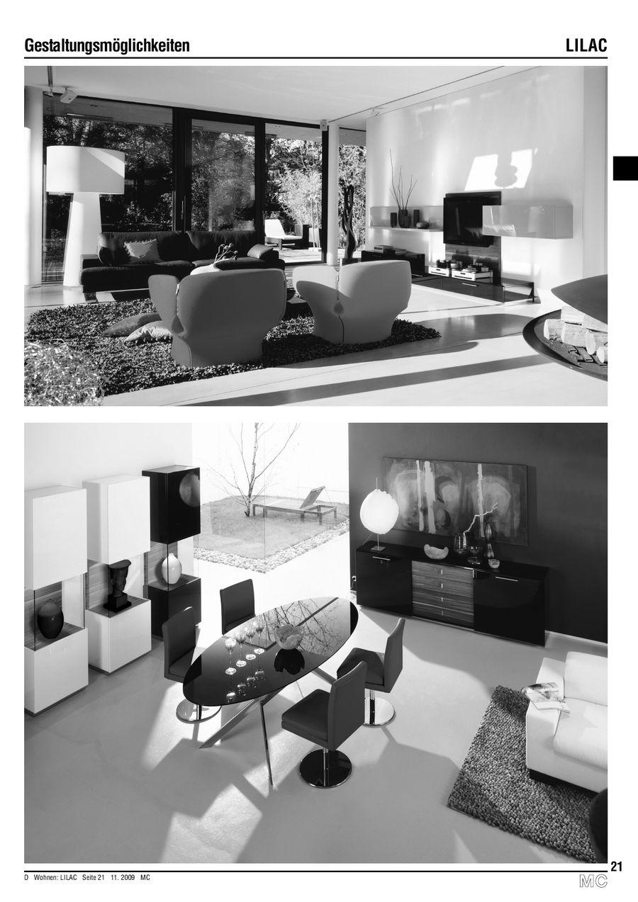 Seite 20 von Lilac Wohnzimmer Einzelmöbel 11.2009