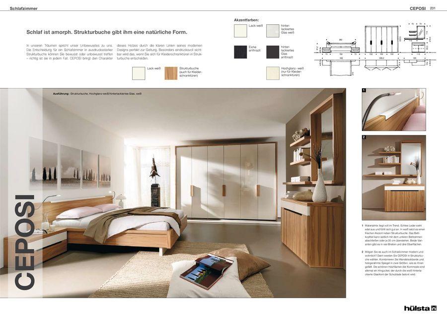 Ceposi Schlafzimmermöbel 2011 von Hülsta