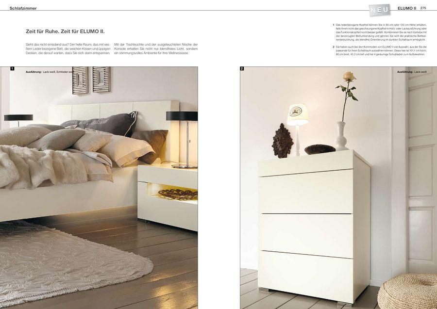 Elumo Ii Schlafzimmermöbel 2011 Von Hülsta