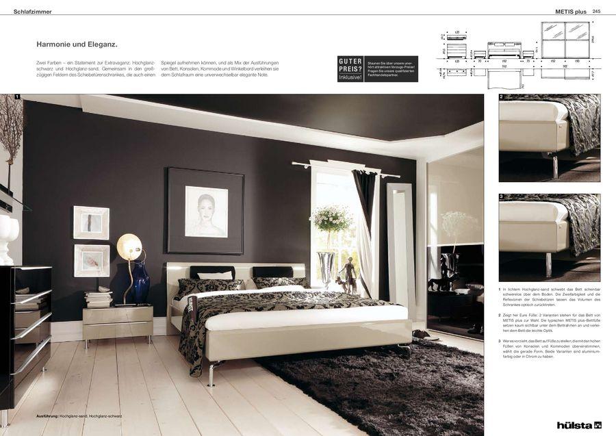 Metis plus Schlafzimmermöbel 2011 von Hülsta