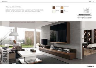 wohnzimmer gestaltung in simia wohnzimmerm bel 2011 von h lsta. Black Bedroom Furniture Sets. Home Design Ideas