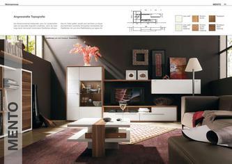 wohnzimmer nussbaum in mento wohnzimmerm bel 2011 von h lsta. Black Bedroom Furniture Sets. Home Design Ideas