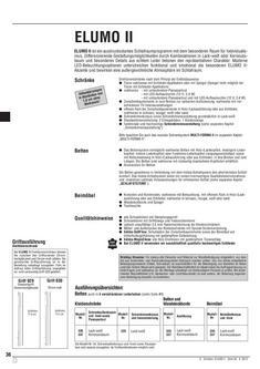 Elumo II Artikelliste 2012