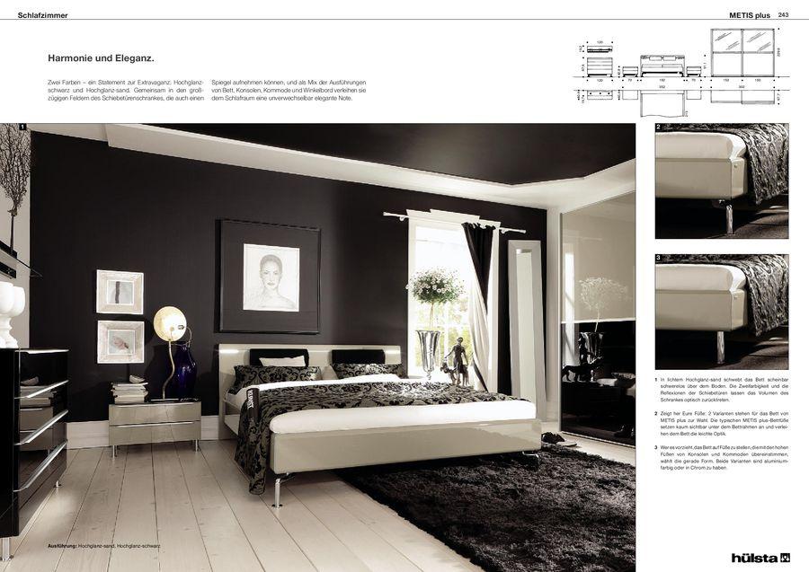 Metis plus Schlafzimmermöbel 2012 von Hülsta
