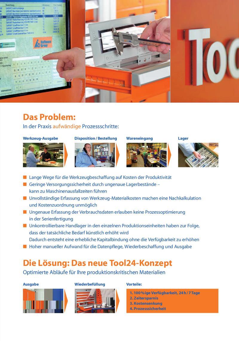 Tool24 – der neue Werkzeugausgabe-Automat von Hoffmann Group