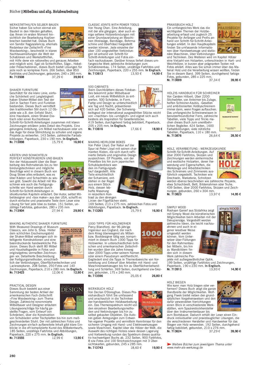 Seite 280 Von Dictum Mehr Als Werkzeug 20112012