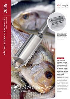 Küchenwerkzeuge für Fisch und Schalentiere
