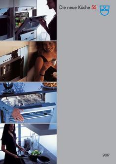 die neue k che 55cm 2007 von v zug. Black Bedroom Furniture Sets. Home Design Ideas