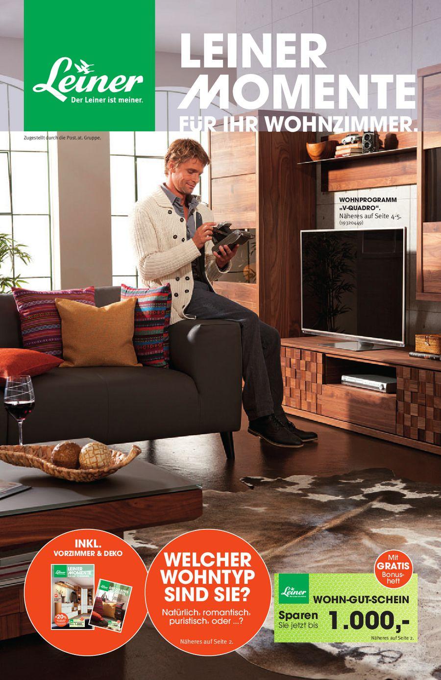Leiner Momente für Ihr Wohnzimmer 2012 von Leiner