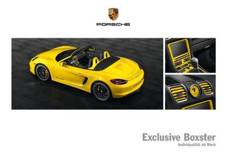 Exclusive Boxster 2013