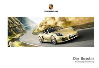 Der Boxster 2013