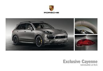 Exclusive Cayenne 2013