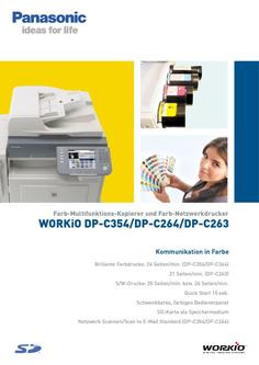Workio DP-C354/DP-C264/DP-C263