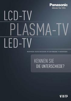 LCD-TV - PLASMA-TV - LED-TV