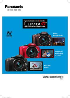 LUMIX-G - Digitale Systemkameras 2011
