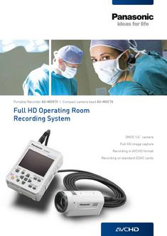 Medical Recorder & Cameras (eng)