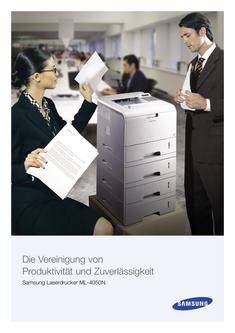 Samsung Laserdrucker ML-4050N