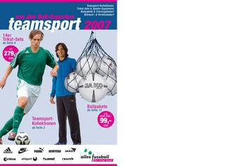 Teamsport Fussball 2007