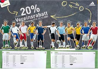 Adidas Fussball Teamaktion 2007