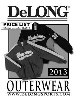 DeLONG Outerwear 2013
