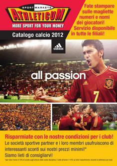 Catalogo Calcio 2012 (Italienisch)