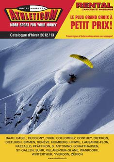 Catalogue Hiver 2012 / 2013 (Französisch)