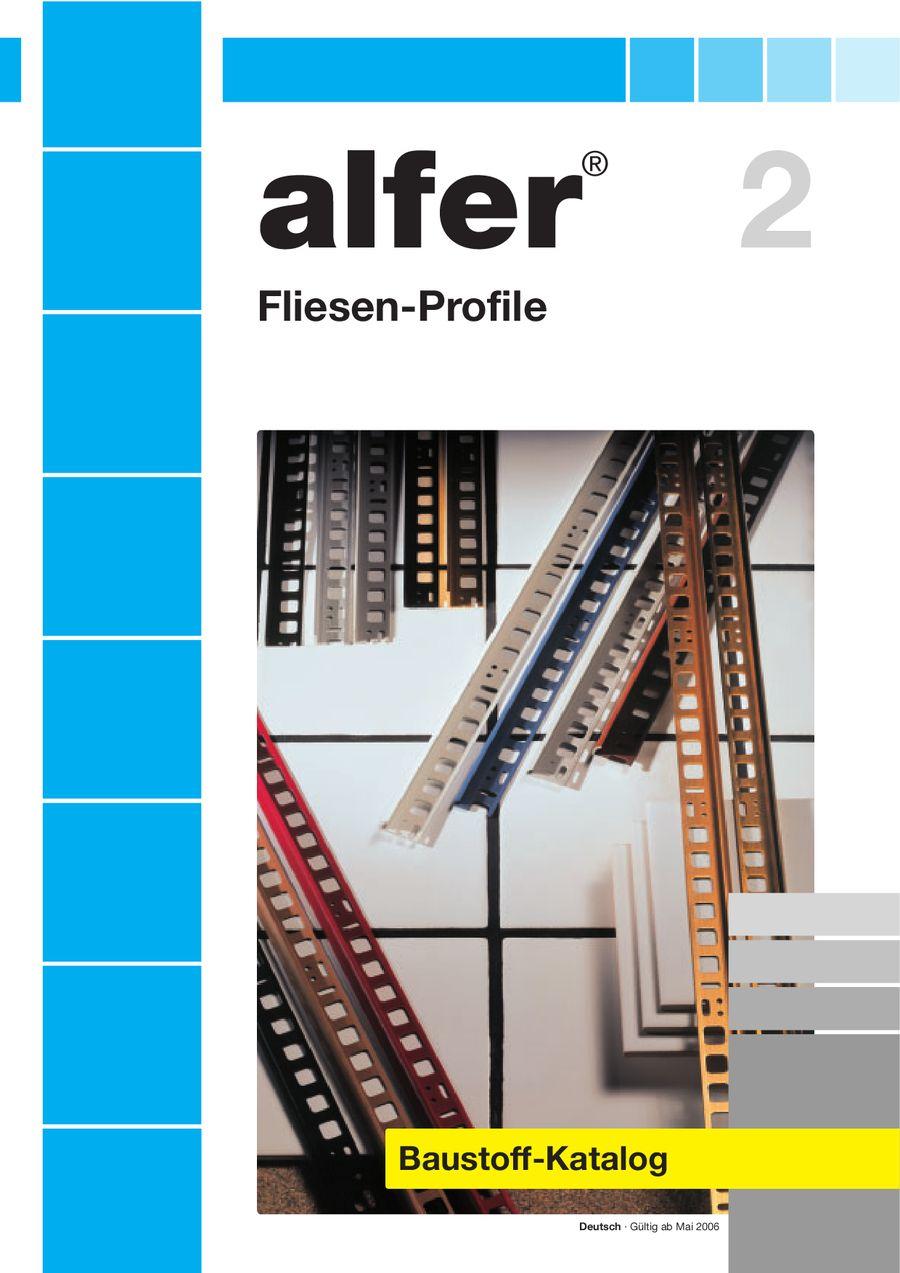 Alfer Fliesen Profile von Elnas