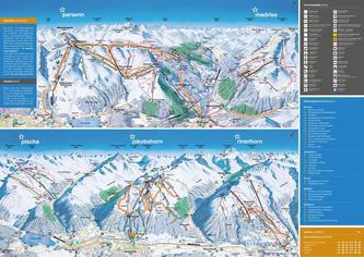 Pistenplan Davos Klostersmountain