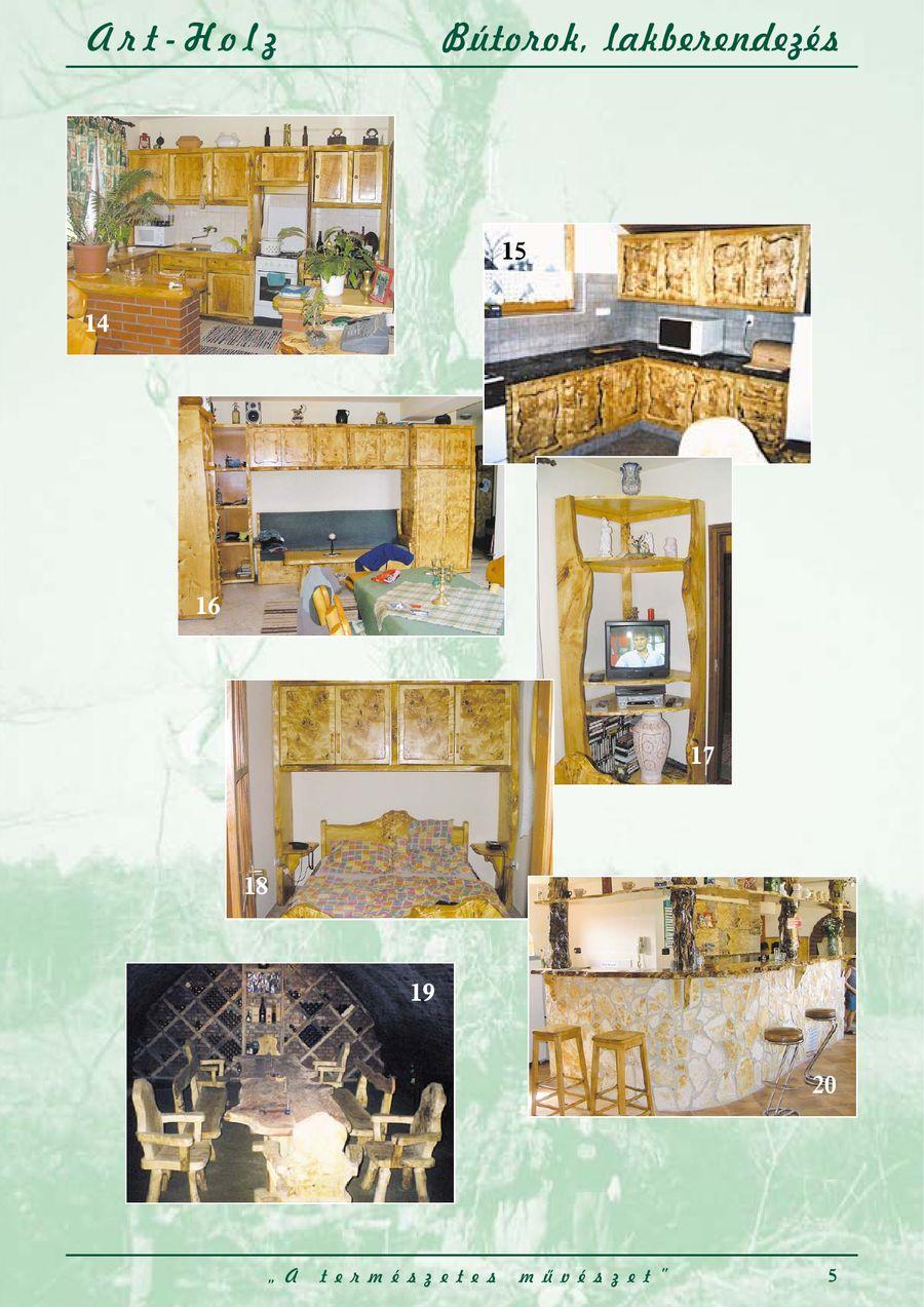 Rustikale Gartenmöbel aus Holz & Massivholzmöbel von Art-Holz Ltd.