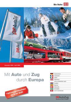 Mit Auto und Zug durch Europa