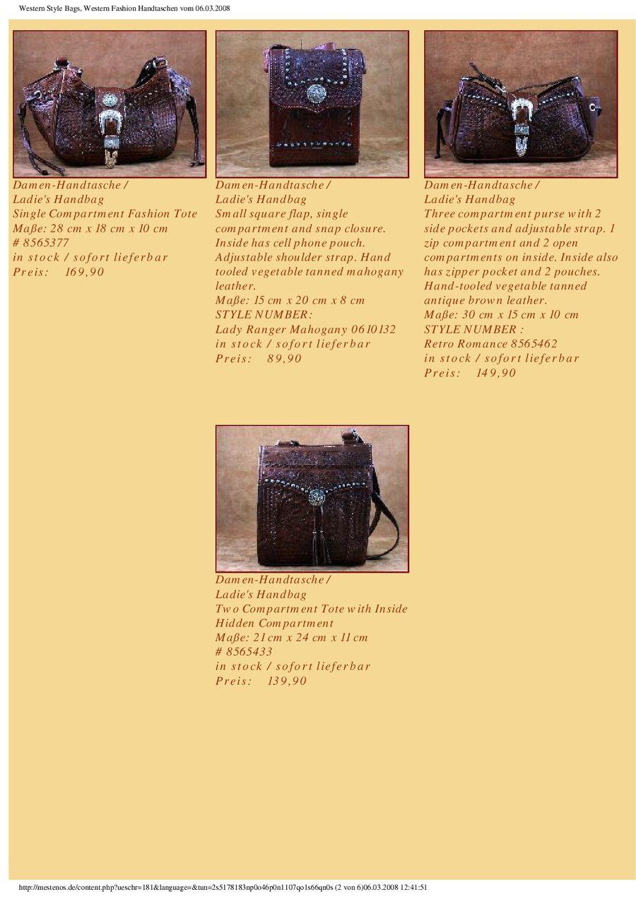 Handtaschen Von Mestenos