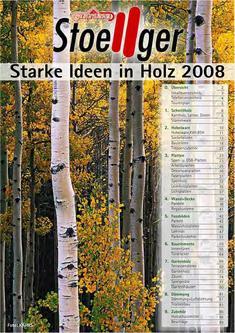 Starke Ideen in Holz 2008