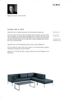 GLOBE ONE & TWO - Sofa-Modulsystem