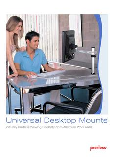Peerless Desktop Mounts 2012