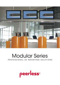 Peerless - Modular Series Professional AV Mounting Solutions 2012