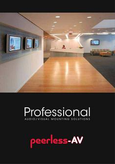 Peerless-AV Audio/Visual Mounting Solutions 2012