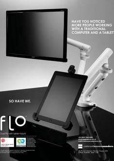 Colebrook Bosson Saunders Dual Flo mit tablet mount 2012