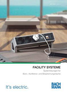 Bachmann Facility Systeme 2013/2014