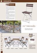 gartenm bel gastronomie in gastronomie und objekt gartenm bel von deschner. Black Bedroom Furniture Sets. Home Design Ideas