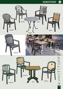 gartenm bel kunststoff in gastronomie und objekt gartenm bel von deschner. Black Bedroom Furniture Sets. Home Design Ideas