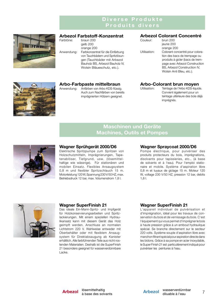 seite 7 von arbezol holzschutz 2007/08 - grundierungen