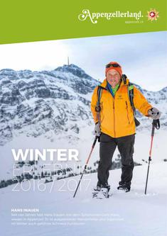 Winter im Appenzell 2016/2017