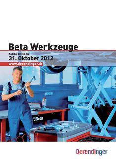 Beta Werkzeuge 2012