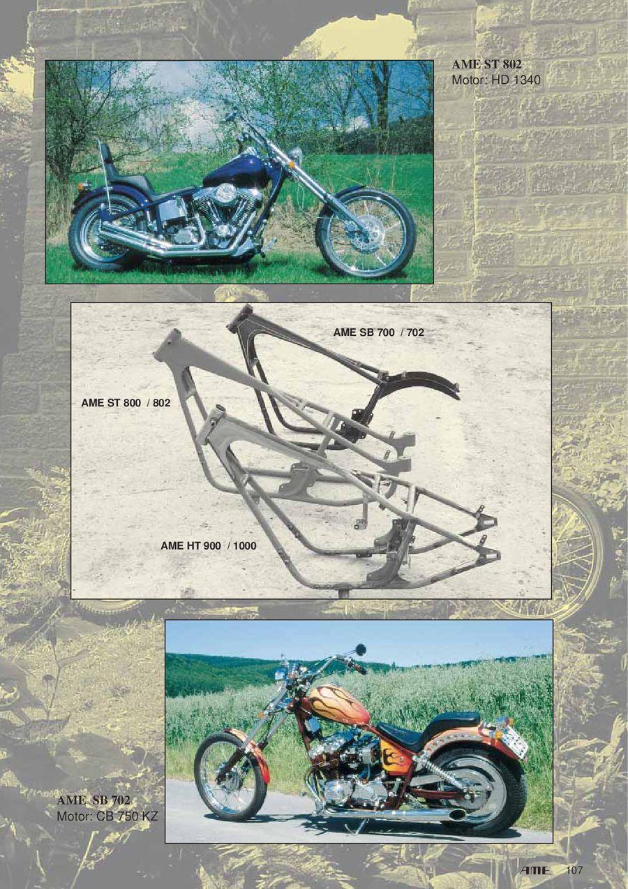 Rahmen Kits von AME Chopper Products